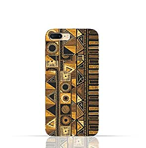 Apple Iphone 7 Plus TPU Silicone Case with Figure Tribal Embroidery Pattern