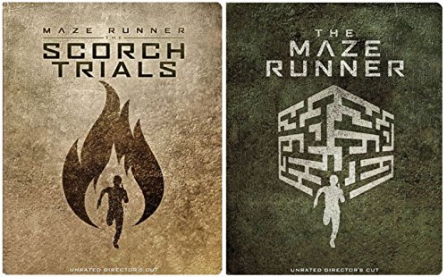 The Maze Runner Steelbook & Maze Runner: The Scorch Trials DVD [Includes Digital Copy] [Blu-ray] [Steelbook] Double Feature Saga