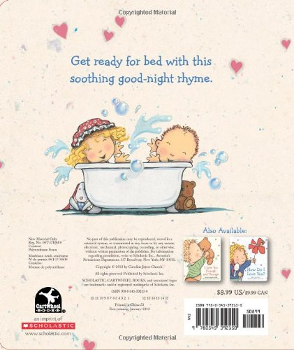 Goodnight I Love You Caroline Jayne Church 9780545392150 Amazon