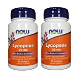 Now Foods Lycopene, 50 softgels / 20 mg (Pack of 2) Review