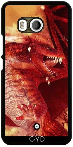 Funda para Htc U11 - Red Dragon by Illu-Pic.-A.T.Art