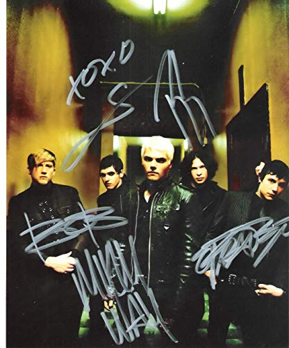 My Chemical Romance band reprint signed autographed photo #3 RP