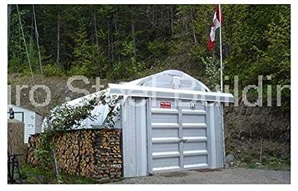 Amazon com: Duro Span Steel M12x15x10 Metal Building Storage