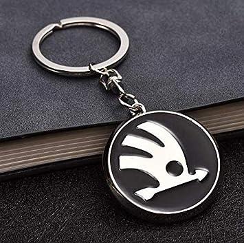 Incognito 7 3d Laxury Scoda Logo Keychain Key Ring Key Bunch Key Chain For Scoda Cars Amazon In Car Motorbike