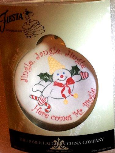 Fiesta Mr. Bingle Plate Christmas Tree Ornament