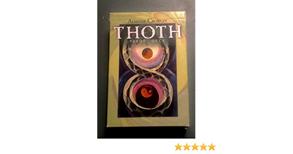 Thoth Tarot Deck by US Games: Aleister Crowley, Lady Frieda