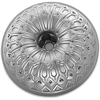 Nordic Ware Stained Glass Bundt Pan, Metallic