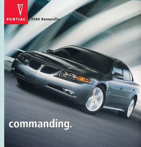 Sales Bonneville Pontiac Brochure (2004 Pontiac Bonneville 36-page Sales Brochure - GXP SLE SE)