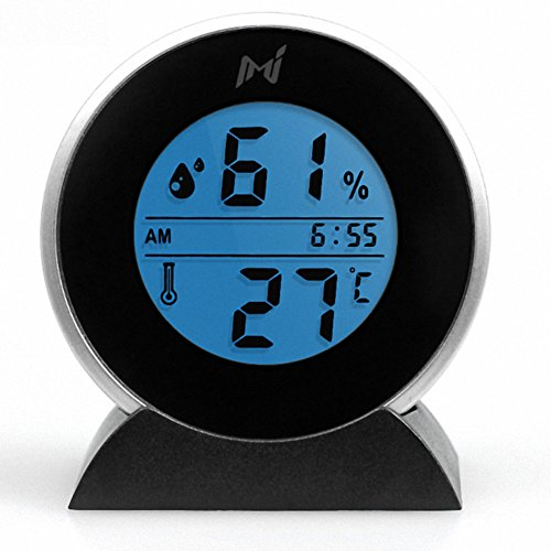 OMEM Reptile Thermometer Hygrometer Noctilucent LCD Display Temperature and Humidity Data Measuring by OMEM