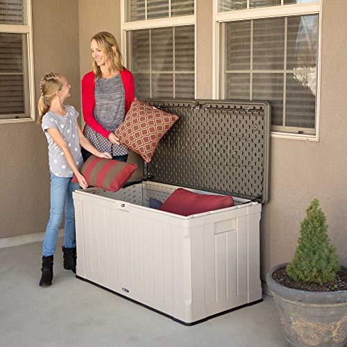 Lifetime Deck Box Review Outdoor Storage Deck Box 60186