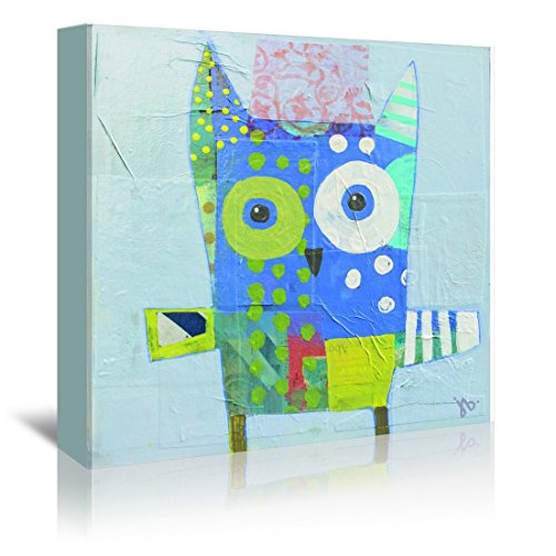 Americanflat Gallery Wrapped Canvas - Owl - Julie Beyer