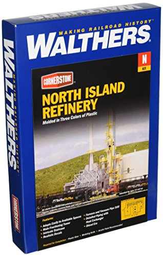 Walthers, Inc. North Island Oil Refinery Kit, 8-1/16 for sale  Delivered anywhere in USA