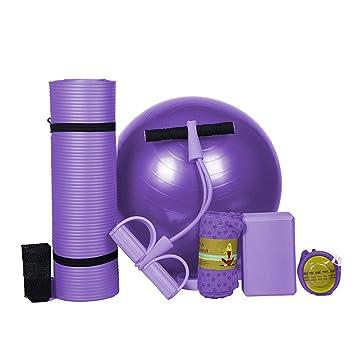 KuaiKeJiaSport Essential Yoga Starter Set Kit 5pcs,1Yoga Mat ...