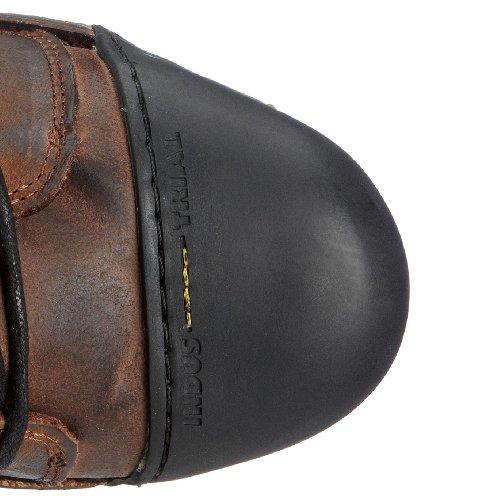 Yellow Cab INDUSTRIAL M Y15012 - Botines de piel para hombre Marrón (Braun (Darkbrown))
