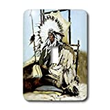 lsp_859_1 Southwest - Indian Chief - Light Switch Covers - single toggle switch
