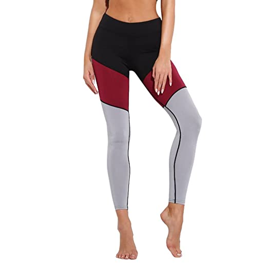 Amazon.com  TIMEMEANS New Women Fashion Workout Sports Pants Ladies Casual  Gym Running Yoga Athletic Pants  Clothing b4e509f17160d