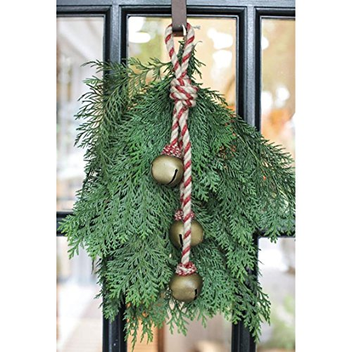 Braided Jute Hanger Jingle Bells