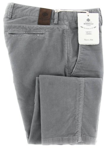 new-luigi-borrelli-gray-solid-pants-extra-slim-33-49