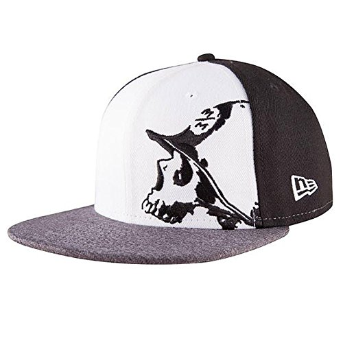 Metal Mulisha Logo Mens Hat - Metal Mulisha Men's Case New Era Fitted Hat Black 7 1/4