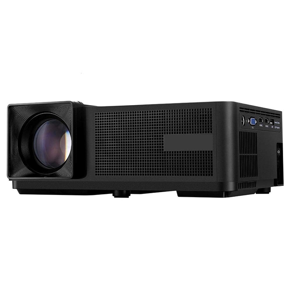 LiChenYao Projector Home HD 1080p Business Office Portable LED Projector Native Resolution-1280800 (Color : Black) by LiChenYao (Image #4)