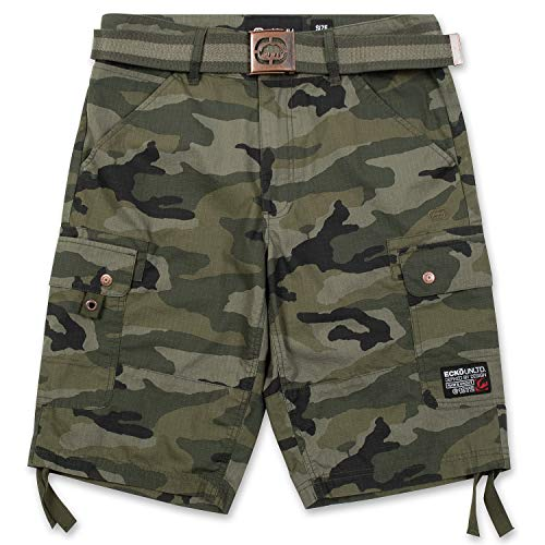 Ecko Unltd. Shorts for Men, Ripstop Cargo Shorts for Men, Big and Tall Shorts w Belt