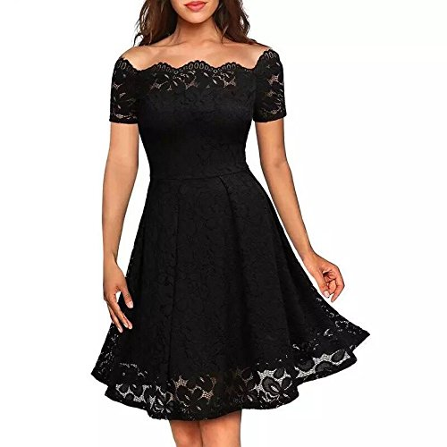 COSYOU Sexy Hollowed lace Dresses Women's Summer Clothing