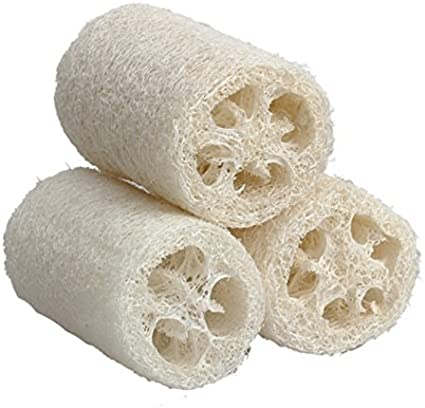 Antibacteriano esponja baño ducha esponja plato cuenco lavado estropajo cuerpo exfoliante pack de 3: Amazon.es: Belleza