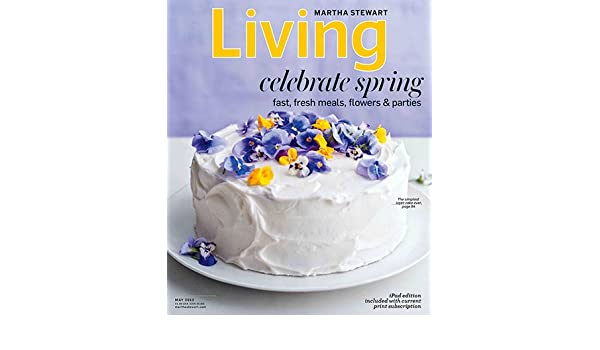 Martha Stewart Living Celebrate Spring May 2013 Paperback
