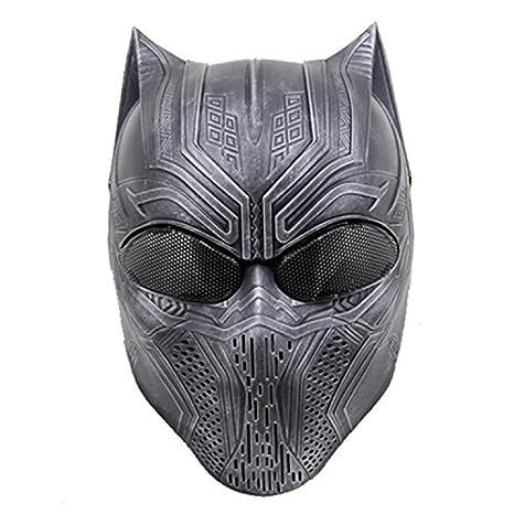 protecci/ón ocular para Halloween con malla de metal personalizable CS dise/ño de animales M/áscara t/áctica de paintball HaoYK Airsoft de cara completa para disfraz tiro caza