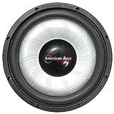 American Bass 12 Inch Slimline Subwoofer 80 Oz Magnet