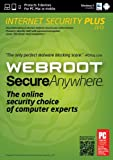 Software : Webroot SecureAnywhere Internet Security Plus 3 Device 2013 [Download]