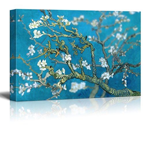 Classic Van Gogh Painting Almond Blossoms Retouched