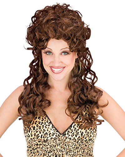 Peggy Bundy Halloween Costumes (UHC Adult Tv Show Peggy Bundy Trailer Park Trophy Wife Brown Hair Wig Accessory)