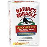 Nature's Miracle Quick Results Training Pads, 30-Count (5230)