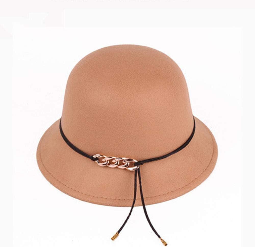 WCXA Gorras Redondas Casuales de Moda para Mujeres Sombreros y ...