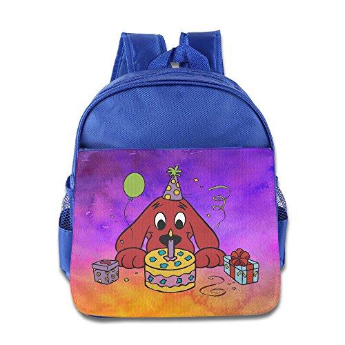 Children Big Red Dog Clifford School Bag (2 Color:Pink Blue)
