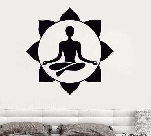 Centro de yoga Etiqueta de La Pared Sala de Meditación ...