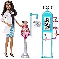 Barbie Careers Eye Doctor Doll y Playset