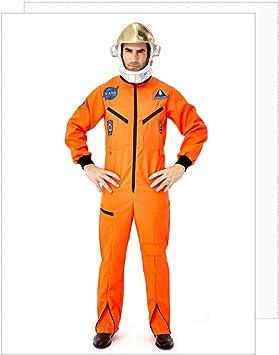 COSOER Traje Espacial De Astronauta Cosplay Ropa De Piloto Blanca ...