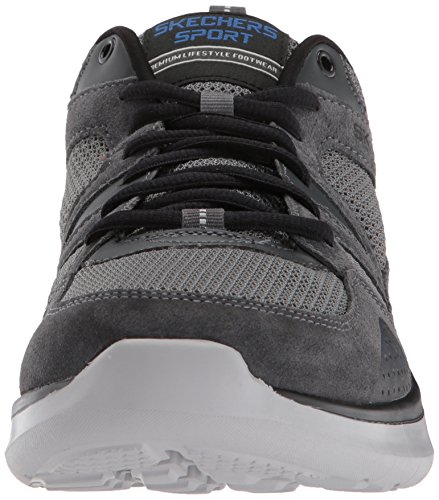 Skechers Men's Quantum Flex Country Walker Oxford Charcoal/Black browse cheap price low price fee shipping online t3F82sDnx
