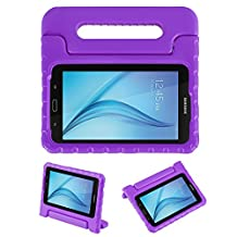 NEWSTYLE Tab E Lite 7.0 & Tab 3 Lite 7.0 Kids Case - Shockproof Light Weight Protection Handle Stand Kids Case for Samsung Galaxy Tab E Lite 7.0 Inch 2016 & Tab 3 Lite 7.0 Tablet (Purple)