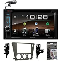 7 Kenwood DVD/iPhone/Android/Bluetooth Player Receiver For 05-09 Subaru Legacy