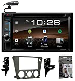 """7"""" Kenwood DVD/iPhone/Android/Bluetooth Player Receiver For 05-09 Subaru Legacy"""