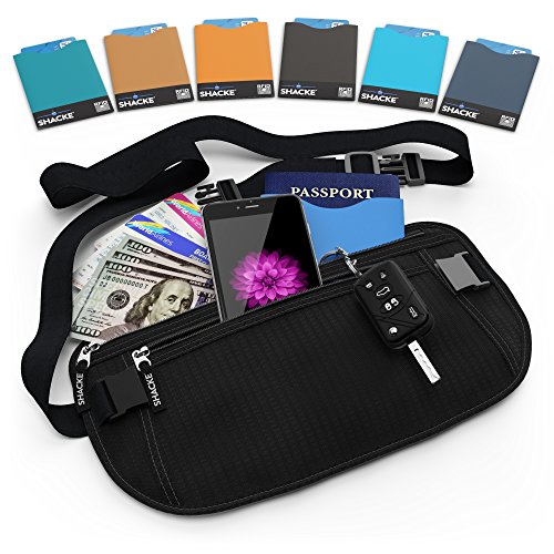 shacke-money-belt-pouch-w-slacker-clip-technology-rfid-passport-cc-card-sleeves-included-black