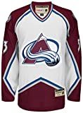 Colorado Avalanche Patrick Roy White Heroes of Hockey CCM Jersey (L)