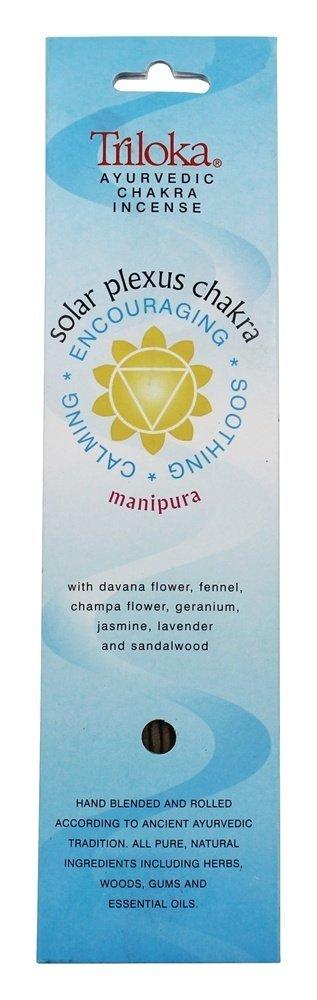 10 Count 120506 Incense Chakra Manipura Triloka