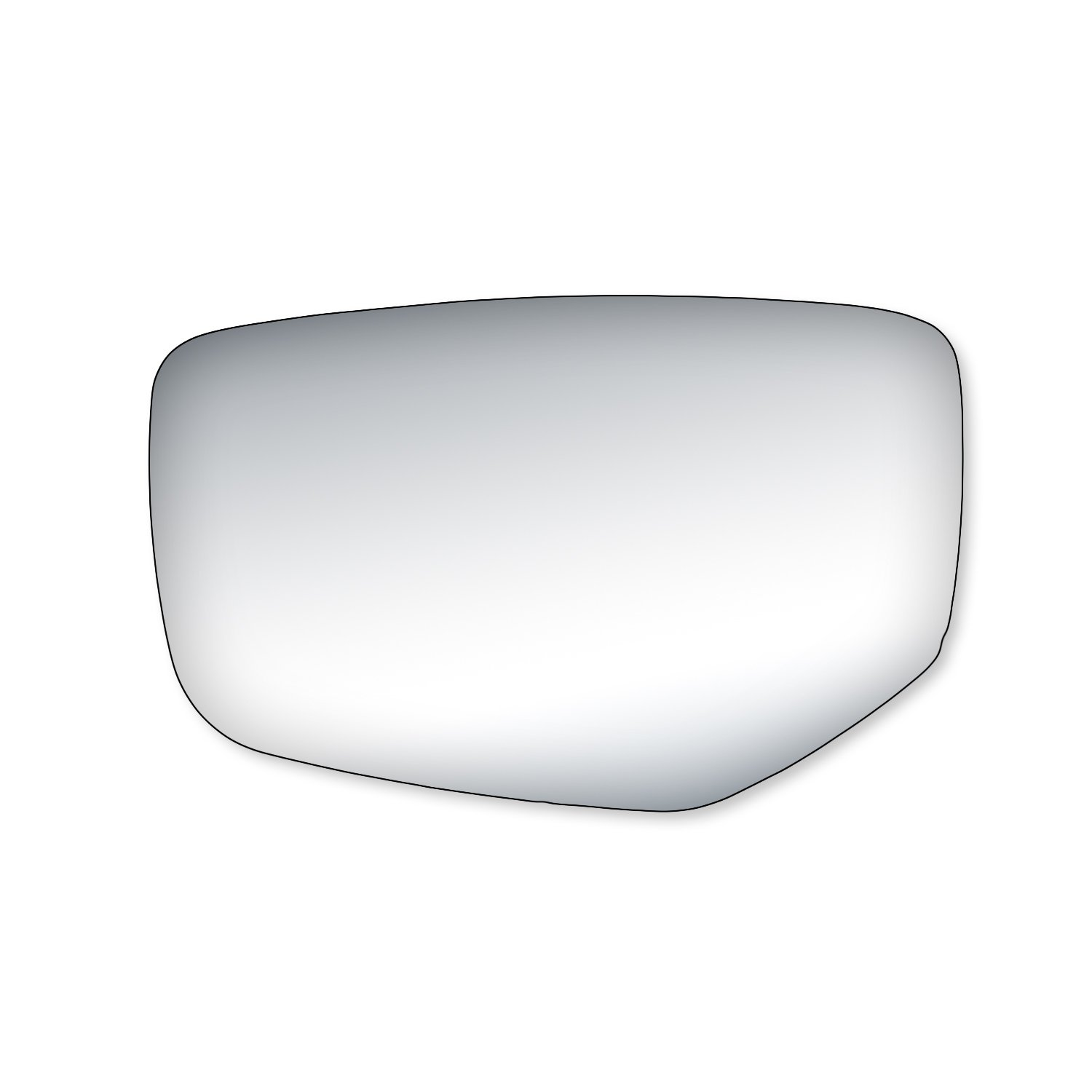 Fit System 90272 Honda Accord Passenger Side Replacement Mirror Glass