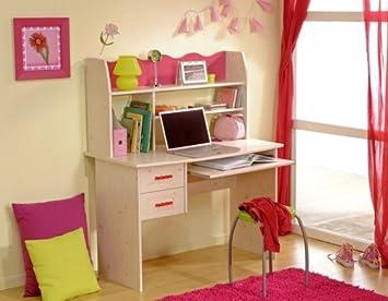 Parisot Schreibtisch Kinderzimmer Lolita: Amazon.de: Küche & Haushalt