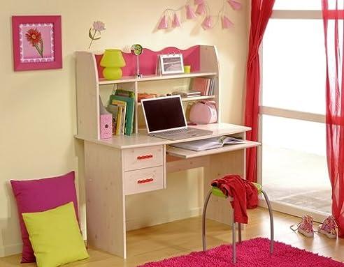 Kinderzimmer schreibtisch  Parisot Schreibtisch Kinderzimmer Lolita: Amazon.de: Küche & Haushalt