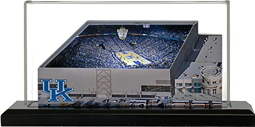 Kentucky Wildcats Rupp Arena, Small Lighted in Display Case ()